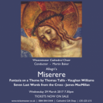 Westminster Cathedral Choir & Orchestra – Miserere